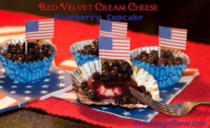 BMWK Red Velvet Cream Cheese Blueberry Cupcake Feature (600x367)