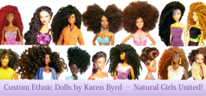 Making Dolls with African American HairStyles