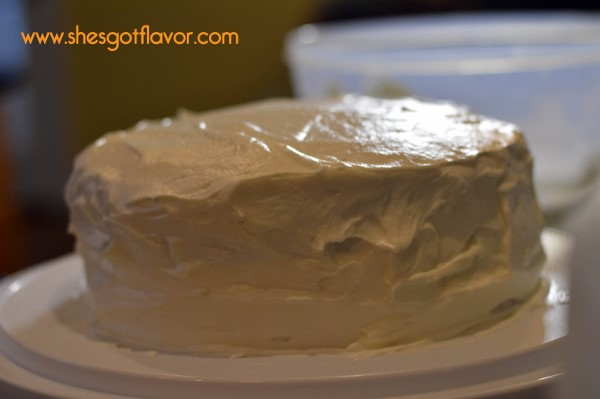 SMALL Key Lime Cake - Easter Never Tasted This Good caked all iced (600x399)