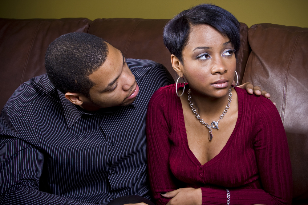 staying together after infidelity couple sad angry