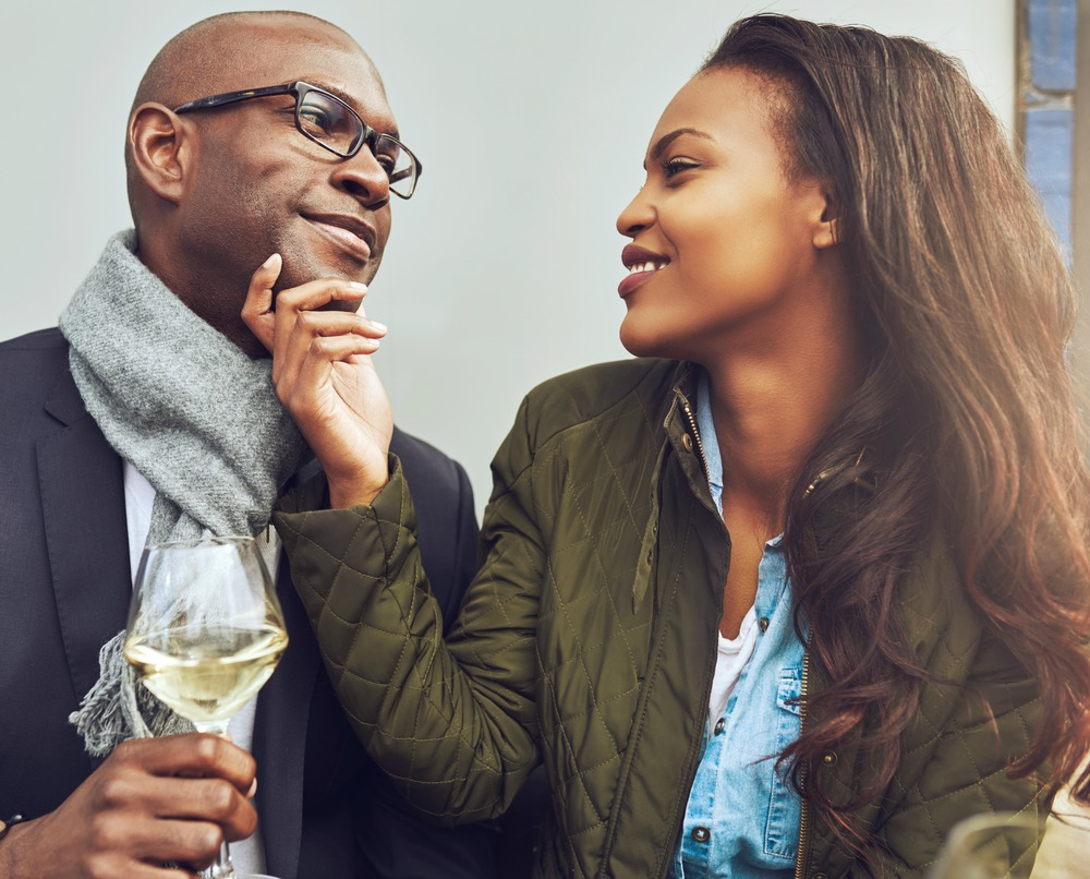Couple Touch Affections Happy accept your partner's differences