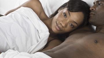 drama free marriage Couple Bed Intimate Sad
